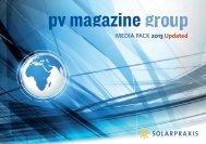pv magazine group's 2013 media data