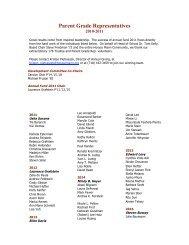 AF website updates 10.21.10 - Horace Mann School
