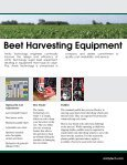 Sugar Beet Harvesters and Defoliators - Amity Technology - Page 5