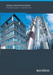 Schüco-aluminiumvinduer Fönstersystem i aluminium