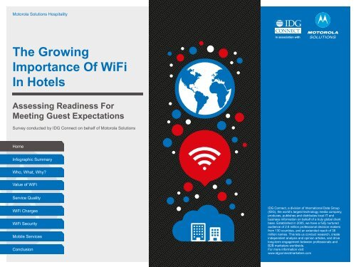 The Growing Importance Of WiFi In Hotels