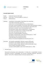 Ohjausryhmän pöytäkirja 04012010.pdf - Lahden ammattikorkeakoulu