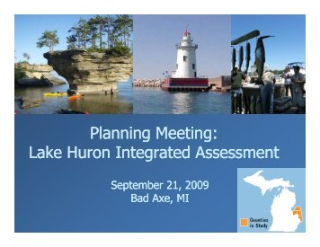 Presentation - Michigan Sea Grant
