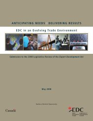 Anticipating Needs - Delivering Results : EDC in an Evolving Trade ...