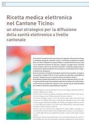 Ricetta medica elettronica nel Cantone Ticino - Rete Sanitaria