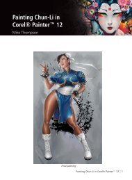 Painting Chun-Li in Corel® Painter™ 12