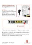 Kurzanleitung Vodafone VDSL-Modem (3.5 MB) - Arcor - Page 2