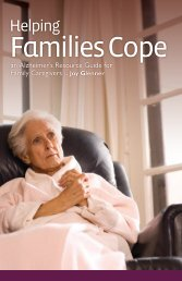 Helping Families Cope - an Alzheimer's Resource Guide for Family ...