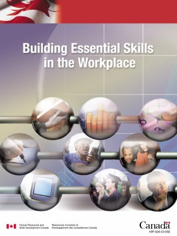 PDF version (308 kb) - Human Resources and Skills Development ...