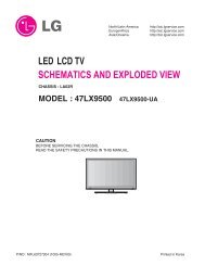 led lcd tv schematics and exploded view - Turuta Electronics World