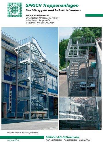Treppenanlagen-Programm - Sprich AG