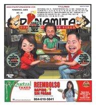 Febrero, 2013 Ed. 31 Titulares - Dinamita Magazine