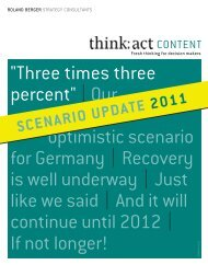 Three times three percent |our optimistic scenario for Germany ...