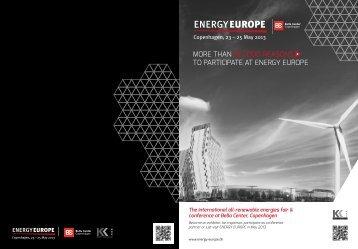 ENERGY EUROPE - Copenhagen Cleantech Cluster