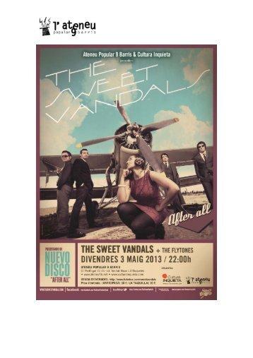 The Sweet Vandals + The Flytones - Ateneu Popular 9 Barris