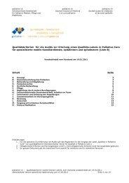 Normative Grundlage für die Audits zur Erteilung ... - Palliative ch