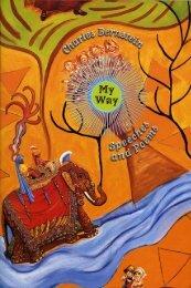 My Way_ Speeches and Poems - Charles Bernstein
