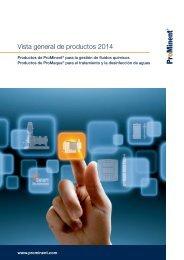 Vista general de productos 2013