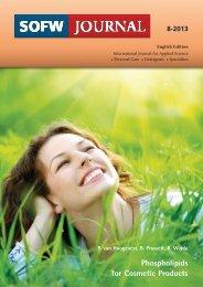 Phospholipids for Cosmetic Products - Lipoid Kosmetik AG