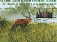 Az üzemi vadgazdálkodás tervezése, jellemzői – Költségek és ...