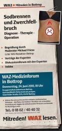 Mitreden! lesen. - und Viszeralchirurgie, Knappschaftskrankenhaus ...