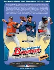 2013 BOWMAN DRAFT PICKS & PROSPECTS BASEBALL CARDS ...