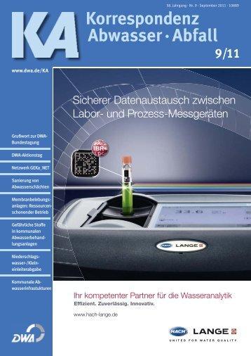 Korrespondenz Abwasser · Abfall - COOPERATIVE Infrastruktur und ...