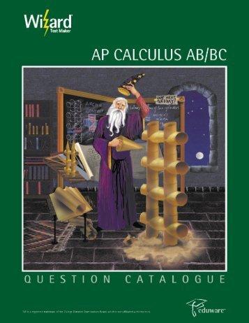 AP Calculus - Eduware