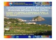 26° Convegno Nazionale Roma 13-15 novembre 2007 - Ogs