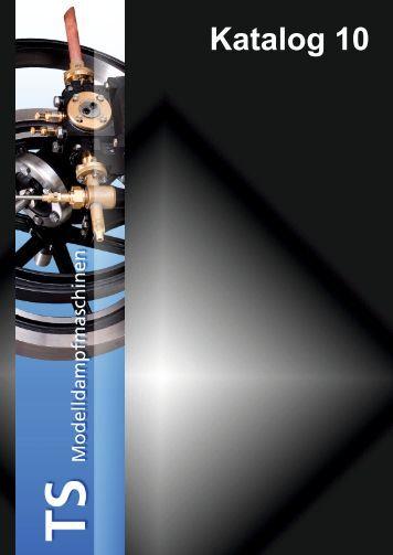 Katalog Nr. 10 - TS Modelldampfmaschinen