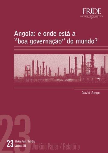 Angola - Fride