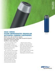 sgac series silver-impregnated granular activated carbon ... - Filters