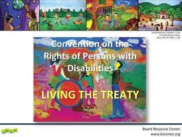 Convention on the Rights of Persons with Disabilities - The Board ...