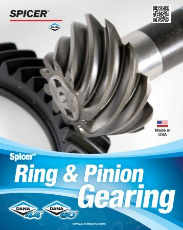 Ring & Pinion Gearing - Spicer