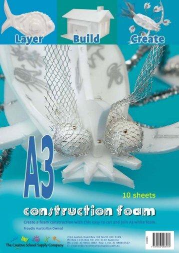 Construction Foam - Zart Art