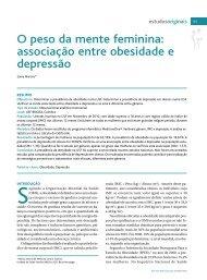 O peso da mente feminina - Associação Portuguesa de Medicina ...