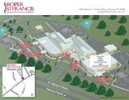 Hospital Map - Roper St. Francis Healthcare