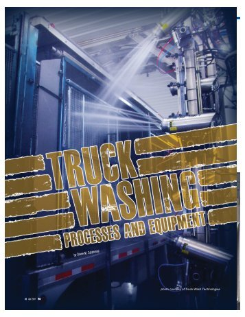 Truck Washing: Processes and Equipment (April ... - Cleaner Times