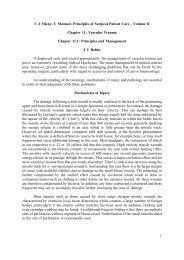 Chapter 11: Vascular Trauma. - Famona Site