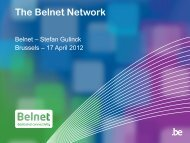 Belnet Network - Belnet - Events