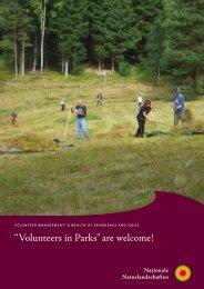 """Volunteers in Parks"" are welcome! - EUROPARC Deutschland eV"