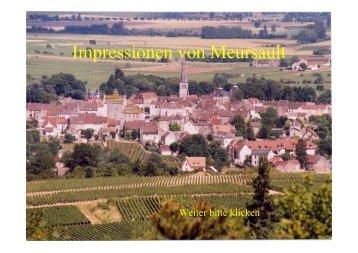 Impressionen von Meursault