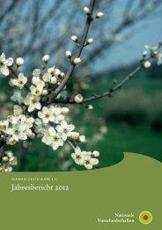 Jahresbericht 2012 - EUROPARC Deutschland eV
