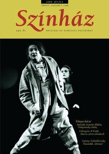 2004. július - Színház.net