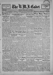 The Cadet. VMI Newspaper. December 16, 1935 - New Page 1 ...