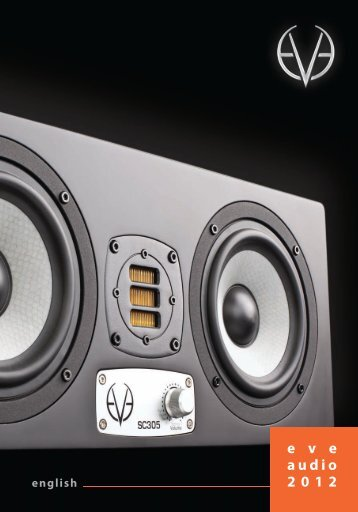 e v e audio 2012 - Radikal