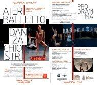 Programma stampabile.pdf - Comune di Reggio Emilia