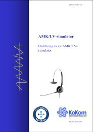 AMK/LV-simulator - KoKom