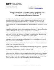 April 18, 2011 - Economic Development Partnership of Alabama