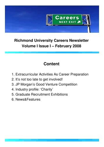 Newsletter - Richmond - The American International University in ...